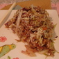 Sweet & Tangy Sauteed Coleslaw