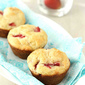 Easy Strawberry & Yogurt Muffin Recipe