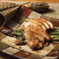 Pan-Roasted Chicken with Shallots and Asparagus