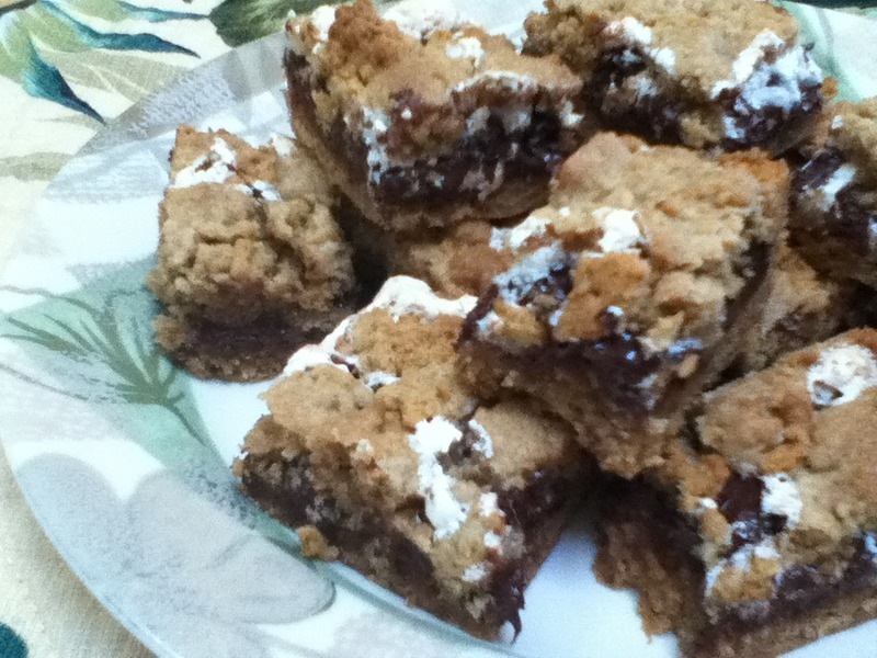 Mores bars recipe mores cookie bars recipe by michelle