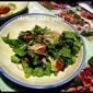 Chicken Tikka Salad with Garden Lettuce and Potatoes