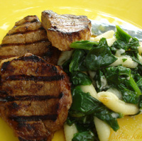 Image of Medallions With Spinach And Fioli Recipe, Cook Eat Share