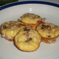 Crustless Miniature Quiche