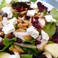Slim's The Word!...Field Greens With Chicken, Goat Cheese, Apples and Cranberries