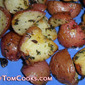 Roasted Baby Red Potatoes with Parsley