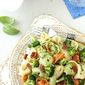 Tortellini Pasta Salad with Bacon, Broccoli & Basil Recipe