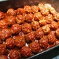 Barbecue Meatballs (Baked)