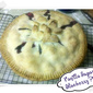 Vanilla Sugar Blueberry Pie