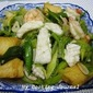 My Cooking Journal 15 - Stir Fry Leek with Seafood and Firm Bean Curd