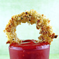 Crunchy Baked Onion Rings and Chipotle Ketchup