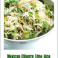 Mexican Cilantro Lime Rice