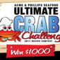 Crab recipe contest for a chance to win $1000 & recipe on a menu