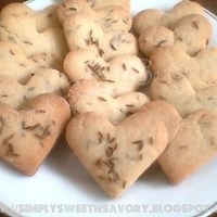 Zeera Biscuits or Cumin Seeds Biscuits