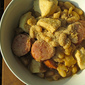 Lightened-Up Chicken Cassoulet with White Beans and Turkey Kielbasa: Guest Post by Katie