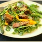 Grilled Asparagus and Steak Salad with Hoisin Vinaigrette