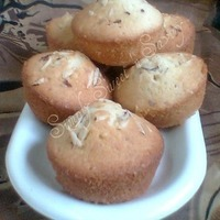 Image of Almond Cupcakes Recipe, Cook Eat Share