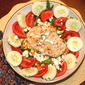 Farmers Market Summer Salad with Baked Chicken Breast