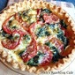 Tomato & Spinach Pie