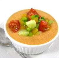 Image of Chilly Gazpacho Soup…delicious For The Hot Days Of Summer Recipe, Cook Eat Share