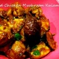 Chettinaad Chicken and Mushroom Kulambu