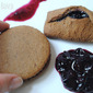 Vintage Recipe Swap – Sweet and Spicy Blueberry Molasses Jam Cookies