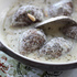 Kibbe in Minted Yogurt Sauce