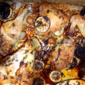 Chicken Marinated in Garlic Oil from Martha Stewart's Everyday Food, July 2011