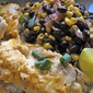 Foil-Baked Fish with Black Beans and Corn
