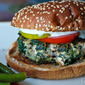 "Wednesday: Greek Turkey Burgers with ""Z"" sauce"