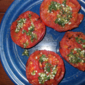 Grilled Tomatoes with Oregano and Lemon from Martha Stewart's Every Day Food, July 2011