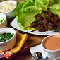 Gardein Party for Meatless Mondays: Thai-Style Beef Lettuce Wraps
