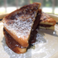 Chocolate French Toast Sandwiches from Best of Fine Cooking Magazine - Breakfast, Summer 2011