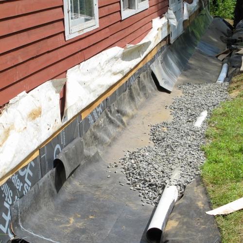 Ground gutters greenbuildingadvisor - Icon exterior building solutions ...