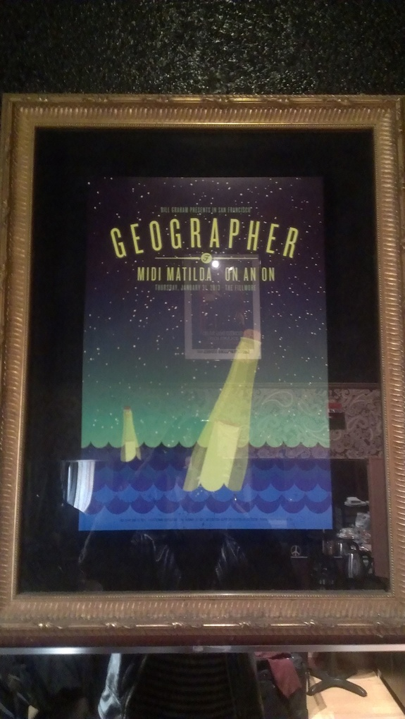 Geographer On An On Midi Matilda Fillmore Poster