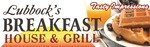 Lubbock breakfast house logo 11