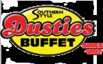 Dusties buffet since 1997 clear