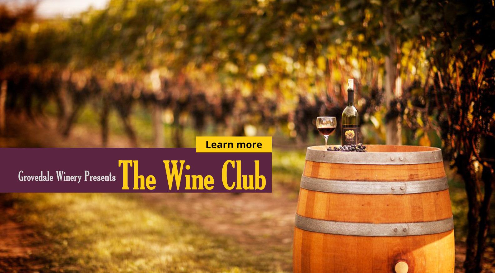 Grovedale Winery Wine Club