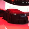 Nissan Resonance Concept before the reveal.