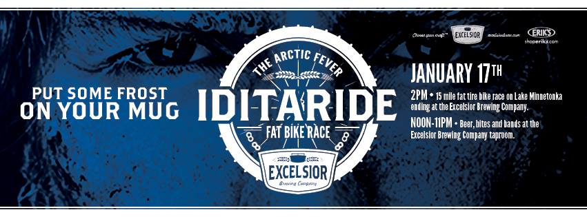 Excelsior brewing co arctic fever fat bike race for Mankato craft beer expo