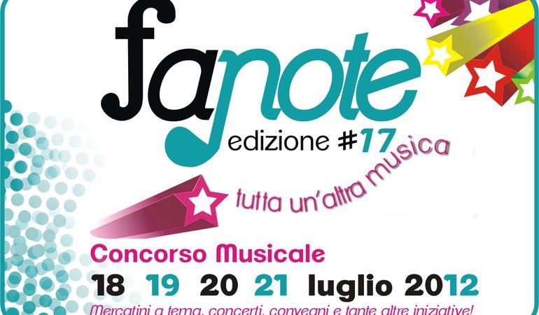 Fanote 2012: band da tutta Italia. Fra una settimana i nomi dei finalisti