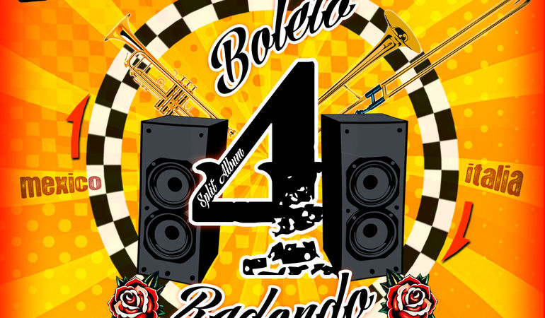 Boleto Redondo Split Album Italia-Mexico!