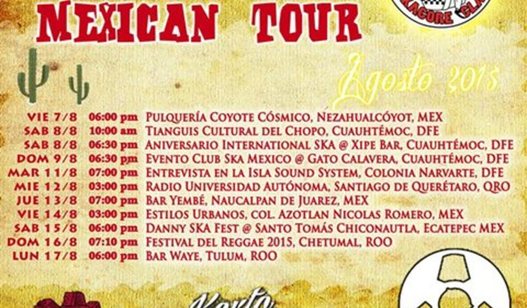 Manovalanza Mexico Tour 2015