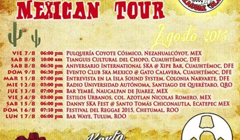 Manovalanza Mexico Tour 2015