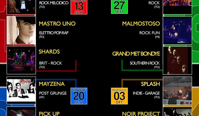 Sacro Festival Concorso musicale per band emergenti