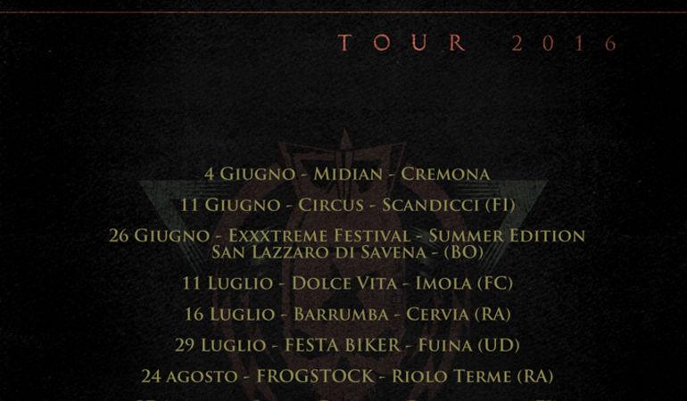 """SPEED STROKE - Otto nuove date in arrivo per il """"Fury Tour 2016"""""""