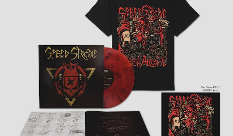 """SPEED STROKE - """"Fury"""" in vinile dall'11 Novembre; release party a Milano e Bologna"""