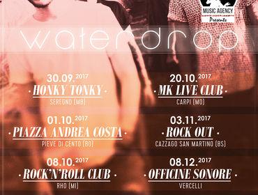 Waterdrop: nuovo video e otto date del tour italiano