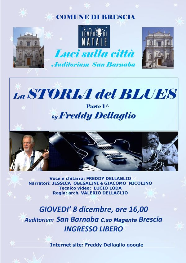 STORIA DEL BLUES BY FREDDY DELLAGLIO
