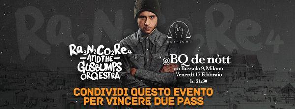 Rancore and GusBumps Orchestra Live a Milano!