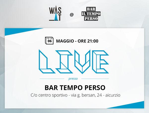 """Concerto al bar """"il Tempo Perso"""""""